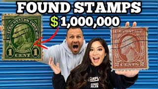 FOUND 1 MILLION DOLLARS IN STAMPS WORTH MONEY I Bought An Abandoned Storage Unit Locker Storage Wars
