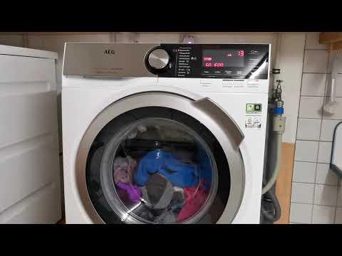 Test der AEG LJUBILINE6 A+++ Waschmaschine 8,0 kg Lavamat Serie 8000 Jubiläumsedition Review