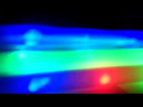 LED Leuchtstab Schaumstoffstab Stab Schaumstoff LÄNGE 50cm 3 LEDs 3 Programme