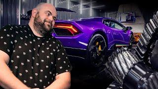 СЛОМАЛСЯ !!! Lamborghini Huracan Performante Twin Turbo!
