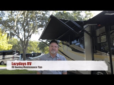 RV Awning Maintenance Tips