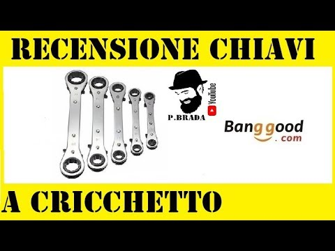 Recensione Chiavi a cricchetto Banggood.com by Paolo Brada DIY