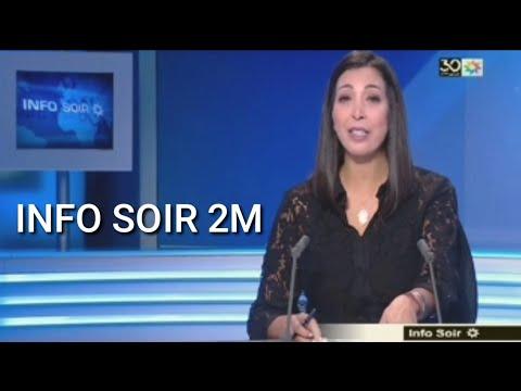INFO SOIR 2M MAROC LUNDI 11 NOVEMBRE 2019  - MAROC