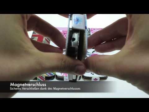 Handytasche: Moderne Fashion Leder Tasche Samsung Galaxy S4 Mini