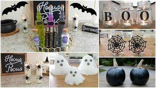 DIY HALLOWEEN DECOR | Inexpensive And Easy DIY Halloween Decor Ideas