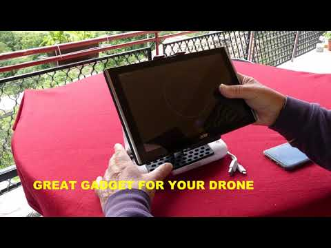 REVIEW NEW IPAD-TABLET-PHONE EXTENTED BRACKET MOUNT HOLTER FOR FIMI X8 SE DRONE AND MORE