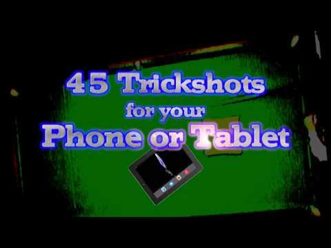 Video of John Virgo Snooker Trick Shots