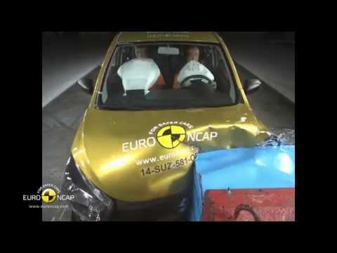 Euro NCAP Crash Test of Suzuki Celerio 2014
