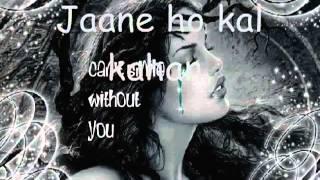 hum hain iss pal yahan lyrics YouTube 2