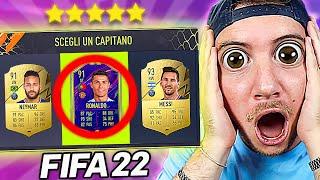 IL MIO PRIMO DRAFT su FIFA 22!! - PROVO CRISTIANO RONALDO, MESSI e NEYMAR ma...