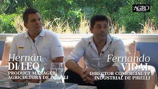 Hernán Di Leo, Product Manager y Fernando Vidal, Dir. Comercial - Pirelli