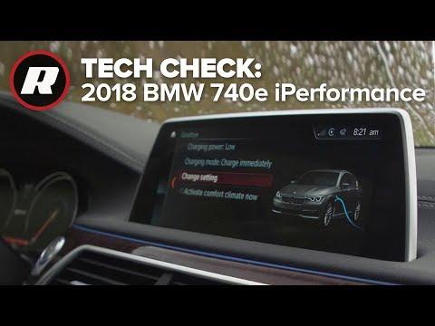 Tech Check: Inside the 2018 BMW 7 Series | 740e xDrive iPerformance