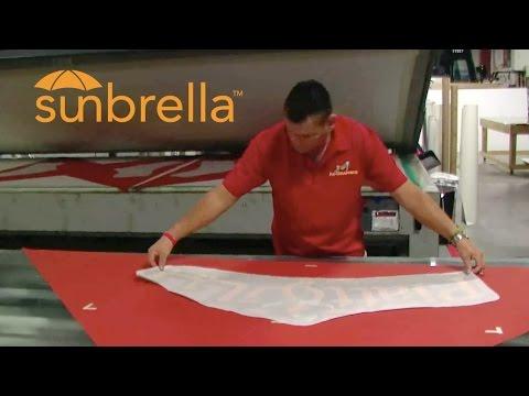 Video Sunbrella Awning & Umbrella Logo Decals and Graphics | AdGraphics, South Florida