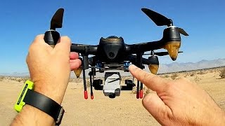 Hubsan H501S Follow Me Selfie Drone Accessories Review