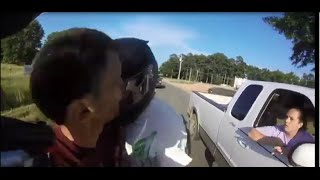 Biker Headbutts Redneck!