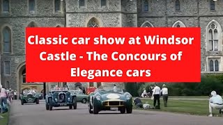 preview picture of video 'Windsor Castle Concours of Elegance (The Concours of Elegance cars)'