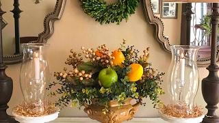 🍋🍏🍐 Artificial Berry & Fruit Arrangement