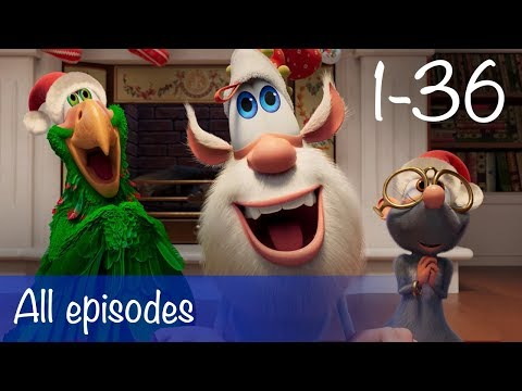 Booba - Compilation Of All 36 Episodes + Bonus - Cartoon For Kids