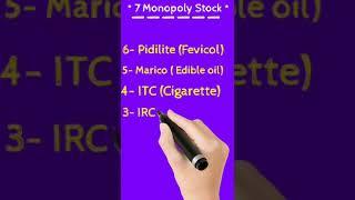 Best Monopoly Stocks For Investment 👍 #shorts #short
