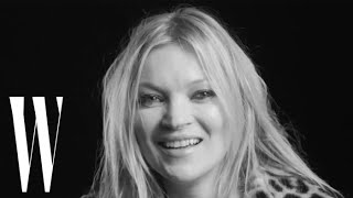 "Photographers ""Always Ask"" Kate Moss To Take Her Clothes Off  W Magazine"