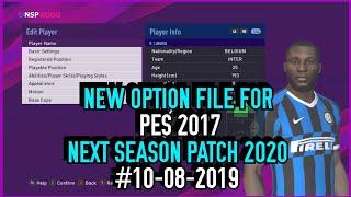 pes 2017 transfer update 2019 option file - Thủ thuật máy