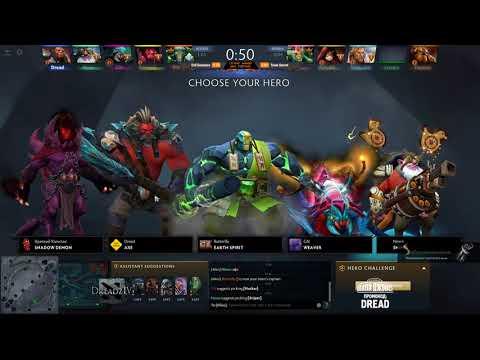 Dread's stream | Dota 2 - Battle Cup | 19.05.2018