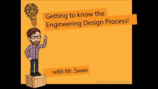 Getting to know the Engineering Design Process.