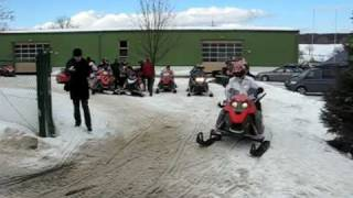preview picture of video '24.01.2009 - Ski-Doo-Safari Sayda'