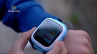 """Детские часы с GPS маяком Smart Baby Watch Q60S (синий) от компании """"Магазин Все, Что Нужно"""" - видео"""