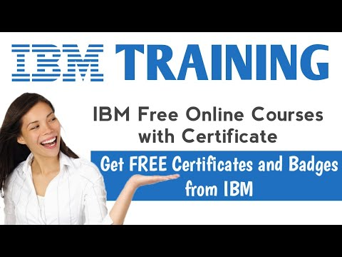 IBM Free Online Courses with Certificate or Badge | IBM Training ...