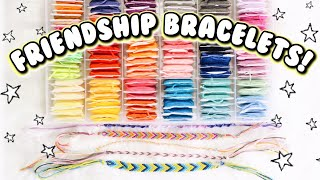 4 EASY DIY FRIENDSHIP BRACELETS! Bracelets For Beginners | DIYholic