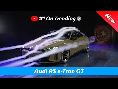 Audi RS e-Tron GT 2021 - CRAZY Aerodynamic wind tunnel test!!!