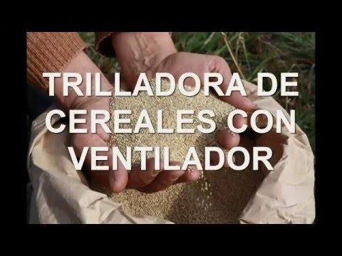 TRILLADORA DE CEREALES MAQUINOM