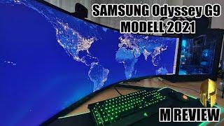 Samsung Odyssey G9 Modell 2021 im MEGAREVIEW