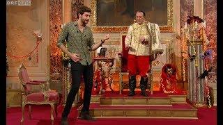 Last night Alvaro was on the Austrian comedy show Wir Sind Kaiser (ORF)