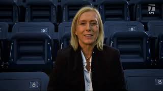 Tennis Channel Live: Martina Navratilova's Love Affair with US Open