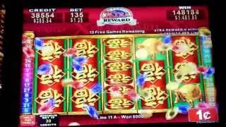 China shores xtra reward--jackpot /handpay