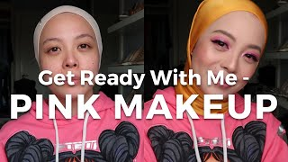 Get Ready With Me – Pink Makeup | Vivy Yusof