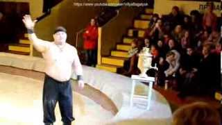 Дмитрий Халаджи-трюк с самоваром.Кто повторит тому 1000$