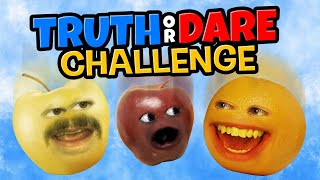 Annoying Orange - Truth or Dare Challenge!
