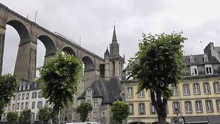 preview picture of video 'Morlaix, Finistère, Brittany, France 20th June 2012'
