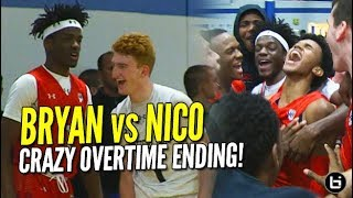 Nico Mannion vs Bryan Antoine! Crazy Overtime Finish! UAA Indianapolis Highlights