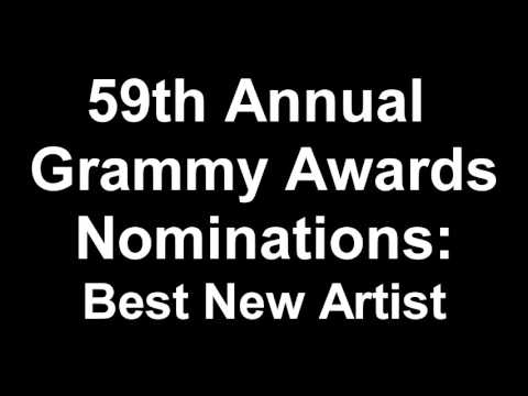 59th Annual Grammy Awards Best New Artist Nominees