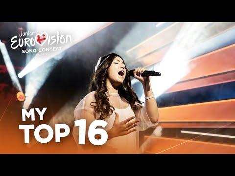 Junior Eurovision 2017 - Top 16