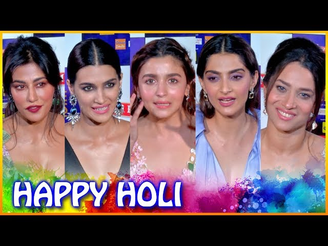 Deepika Padukone, Varun Dhawan, Alia Bhatt Have A SPECIAL Message For Fans On Holi 2019