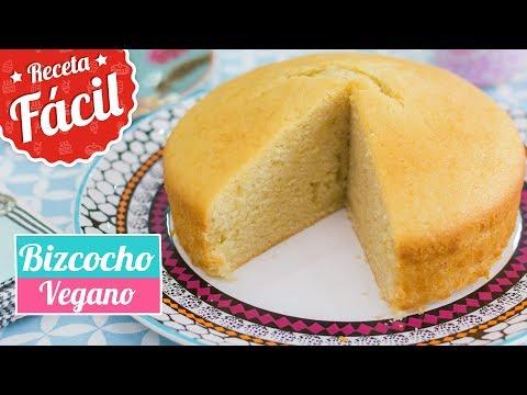 BIZCOCHO VEGANO | Sin huevo y sin lactosa | Quiero Cupcakes!