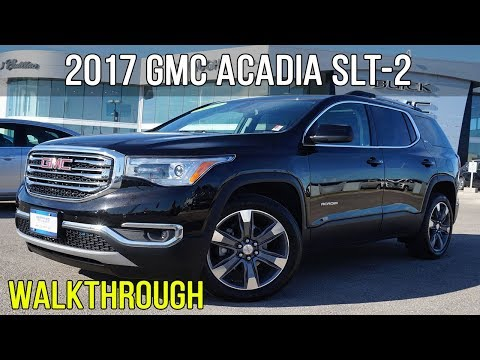 "2017 GMC Acadia SLT-2 | Sunroof, Bose, 20"" Wheels (Walkthrough)"