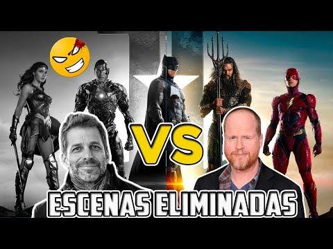 Escenas eliminadas de LIGA DE LA JUSTICIA (Snyder vs Whedon)   @LordMefe