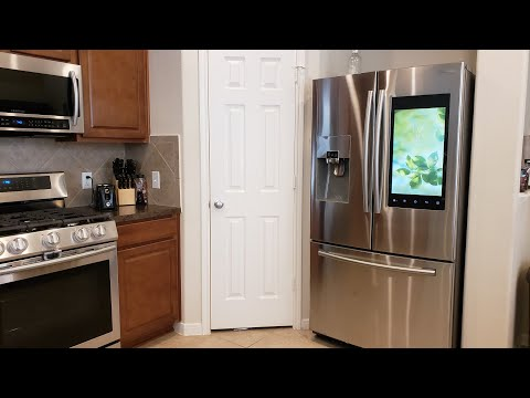 Our Samsung Family Hub Refrigerator!