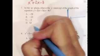 Texas Success Initiative Sample Math Problems 6 to 10